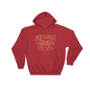 Tribal Hoodie - Red/Gold