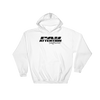 Angry Elephant Pay Attention Hoodie - White/Black