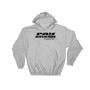 Angry Elephant Pay Attention Hoodie - Grey/Black