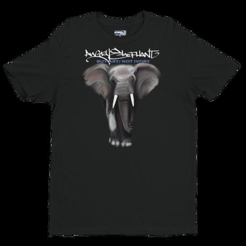 BuyArt/NotIvory-Short sleeve men's t-shirt - Black