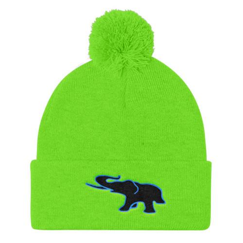 Loxo Pom Pom Knit Cap (custom color logo available)