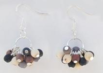 Chirilla Cluster Earrings - Winter Elegant