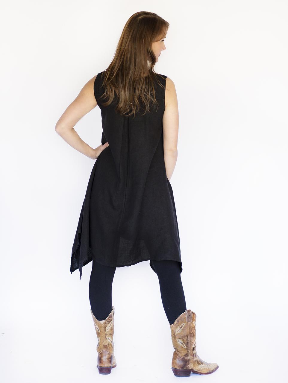 Mona Lisa Vest - Black