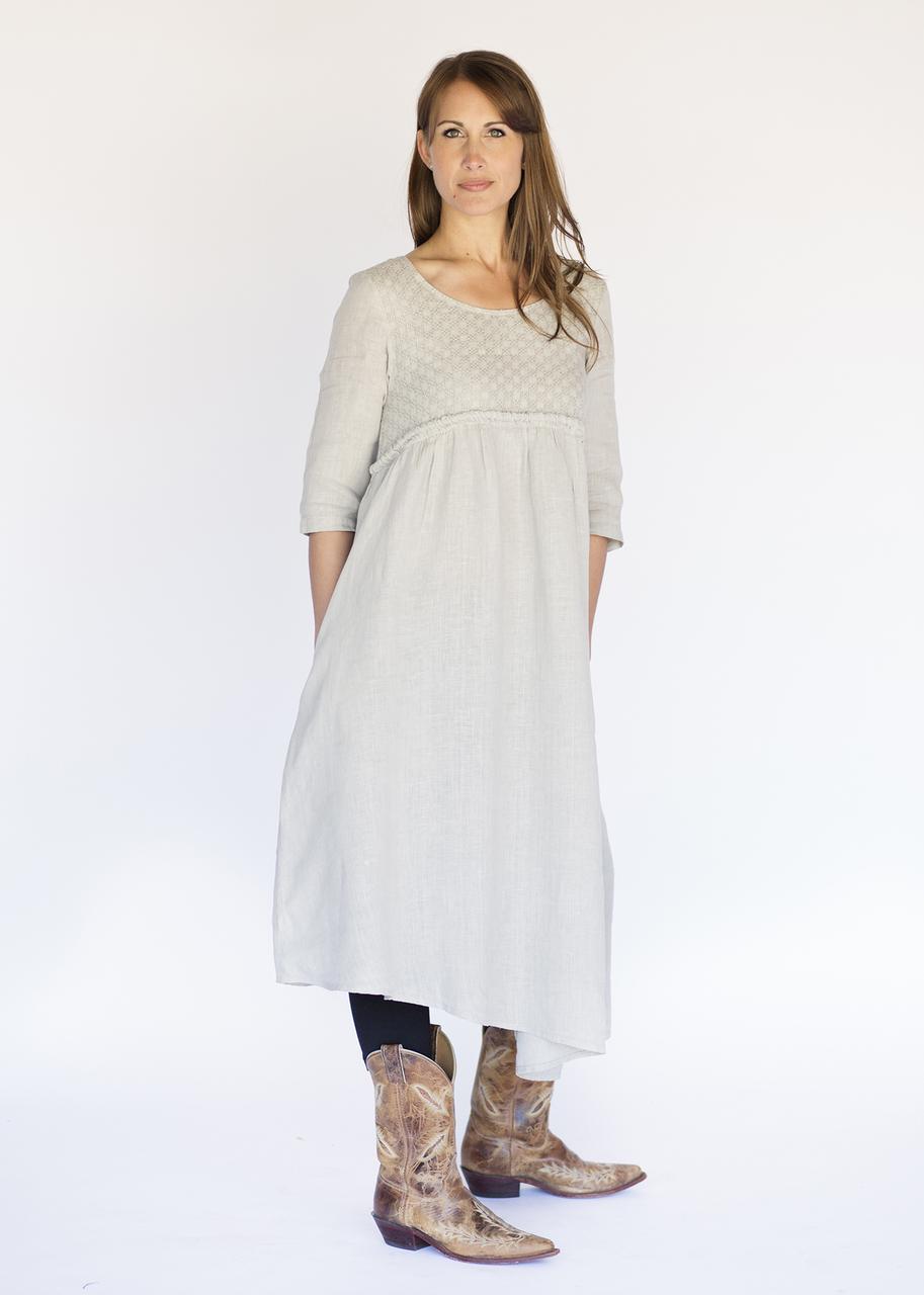 Mona Lisa Dress - Natural