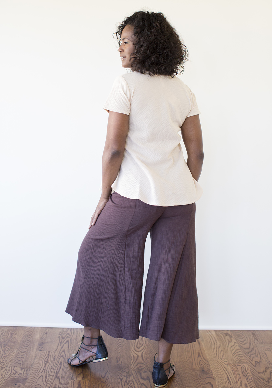 Gaucha Pants - Brown