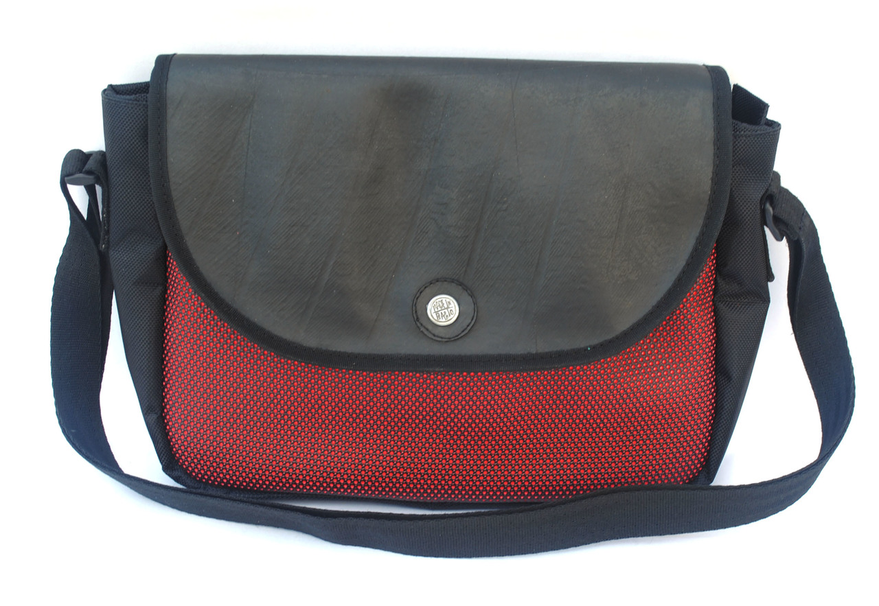 Optimus Crossbody Bag - Red