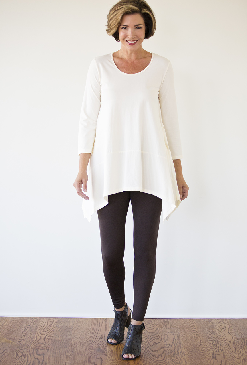 Emma Tunic - Winter White