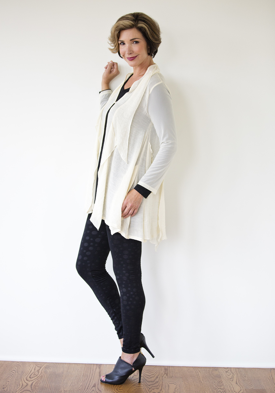 Sofia Cardigan - Winter White