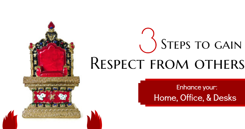feng shui attract respect