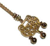 feng shui lock necklace