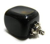 Obsidian Pendant Absorbs and Transform Negative Energies quickly