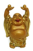 Buddha holding wealth balls to overcome looses in job or business