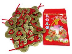 feng shui 3 coins