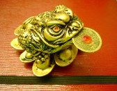 """Auspicious Money Toad brings Money into your home or office."