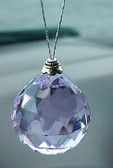 Purple Color Crystal to Enhance the Finance Area