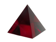 feng shui red pyramid