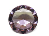"Big Crystal- Diamond Cut To Enhance Love Area. - 4"" wide!"