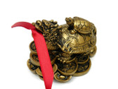 Dragon-Headed Turtle with red Ribbon rescues your Relationships