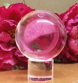 Pink Crystal Ball. Everlasting Love & Luck to the Matriarch