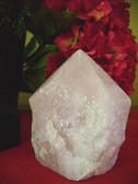 feng shui rose quartz point