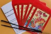 Wishes & Resolutions Tradition. 12 Red Envelopes to Burn