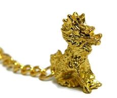 feng shui chilin key chain