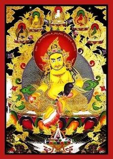 feng shui dzambhala plaque