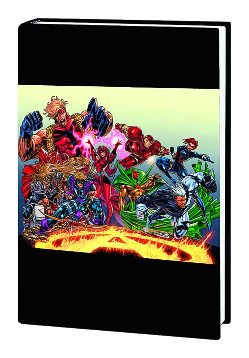 Avengers Crossing Omnibus HC Deodato Dm Variant Edition -- DEC110697