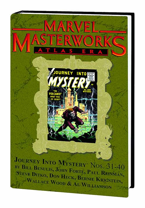 MMW Atlas Era Journey Into Mystery HC 4 Dm Variant Ed. 180 -- DEC110711