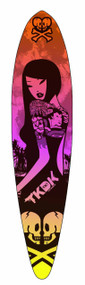 Tokidoki Sunset Longboard Deck -- DEC111555