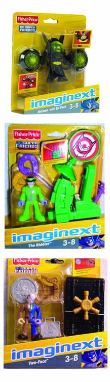 Imaginext DC Super Friends Basic Action Figure Assortment -- DEC111640