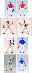 Mlb Playmakers Series 3 Action Figure Assortment -- DEC111706
