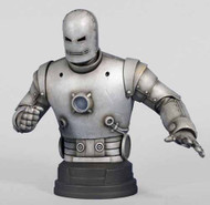 Gentle Giant Iron Man Classic Silver Mini-Bust -- DEC111737