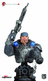 Gears Of War 2 Marcus Fenix Epic Scale Bust -- DEC111749