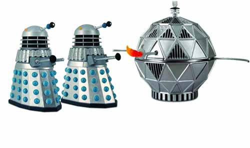 Doctor Who The Chase Action Figure Set -- DEC111769