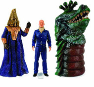 Doctor Who Enemies Of The 3rd Doctor Action Figure Set -- DEC111771