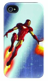 Iron Man Repulsor Fire iPhone 4/4S Barely There Case -- DEC111905