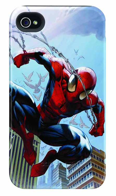 Spider-Man Web Swing iPhone 4/4S Barely There Case -- DEC111906