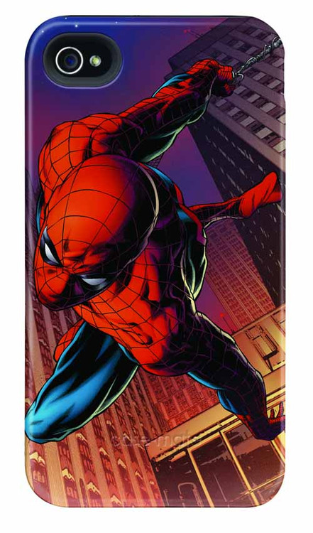 Spider-Man Dive iPhone 4/4S Barely There Case -- DEC111907