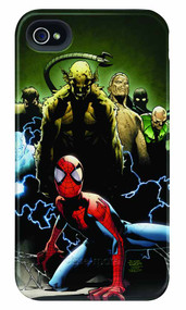 Spider-Man Deep Trouble iPhone 4/4S Barely There Case -- DEC111908
