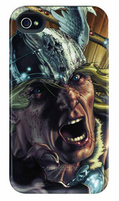Thor Game Face iPhone 4/4S Barely There Case -- DEC111911