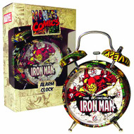 Marvel Iron Man 4In Alarm Clock -- DEC111919