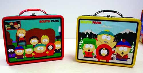South Park Large Carry All Lunch Box 12 Pc Assortment -- DEC111956