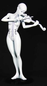 Umbrella Academy Maquette #1 White Violin -- DEC120150
