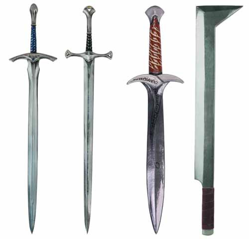 Lord of the Rings LOTR Glamdring Latex Sword -- Gandalf -- APR121741