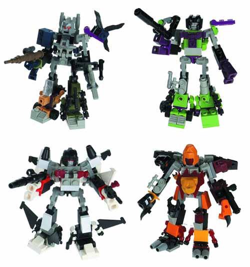 Transformers Kreo Micro Changer Combiner Assortment -- DEC121678