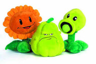 Plants Vs Zombies 7-In Plush Assortment -- DEC121679