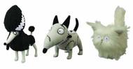 Frankenweenie Mascot Plush 3-Piece Assortment -- DEC121755