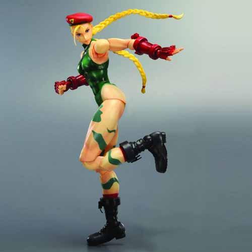 Street Fighter Iv Play Arts Kai Cammy Action Figure -- DEC121776
