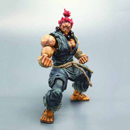 Street Fighter Iv Play Arts Kai Akuma Action Figure -- DEC121777